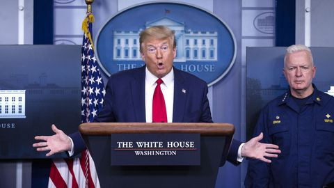 Donald Trump ha cargado de nuevo contra la gestión china de la pandemia