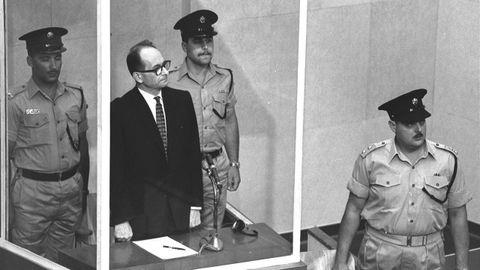 Juicio a Adolf Eichmann, celebrado en Jerusalén en 1961