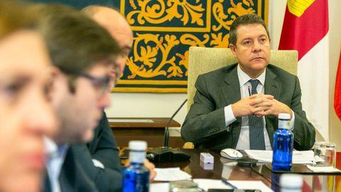 García-Page es uno de los presidentes socialistas críticos con la gestión del Gobierno en la desescalada