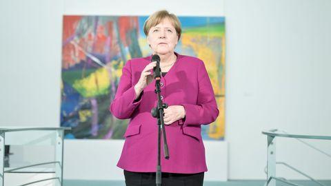 La canciller Merkel lleva días pidiendo prudencia a los alemanes