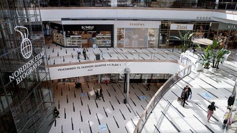 En Copenhagen los centros comerciales pueden abrir, una vez iniciada la fase 2