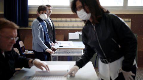 Elecciones en Francia en marzo, cuando ya había casos de coronavirus