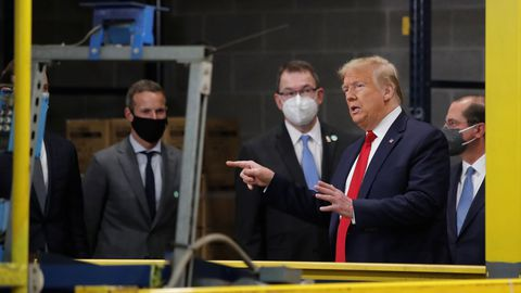 Trump ha fichado a laboratorios europeos para garantizarse la vacuna contra el SARS-CoV-2
