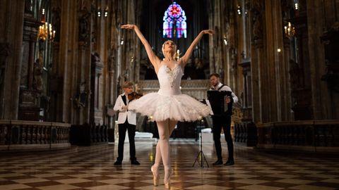 En la Catedral de Viena se grabó una actuación de música clásica y ballet que se retransmitirá el día 17 con fines benéficos