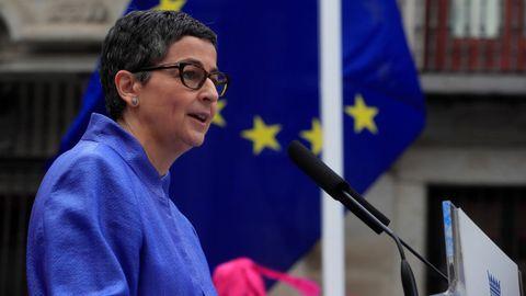La ministra de Asuntos Exteriores Arancha González Laya