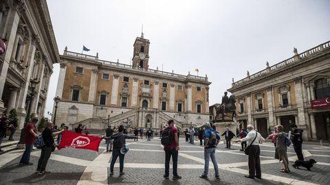 En las últimas 24 horas han fallecido 153 personas en Italia a causa del covid-19