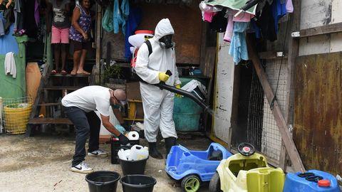 Al coronavirus, en Brasil se suma el temor a otras enfermedades