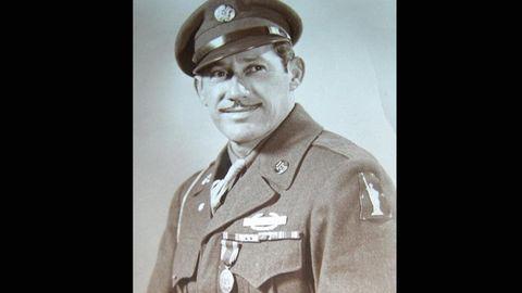 Leoncio Peña, combatiente del frente de Oviedo y después sargento del ejército de EEUU