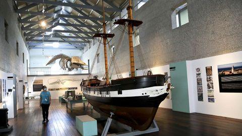 El Museo do Mar de Vigo fue uno de los que abrieron este martes