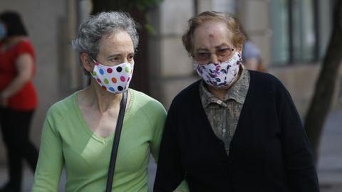 El uso de mascarilla en la calle es obligatorio desde el jueves
