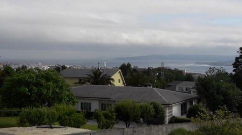 Vistas desde la casa okupada en A Zapateira, A Coruña