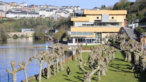 Exterior del Club Fluvial de Lugo