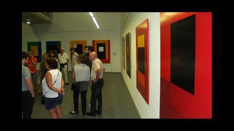 Primeira exposición retrospectrica sobre a obra pictórica de Manuel Jorge, celebrada no 2016 en Chantada