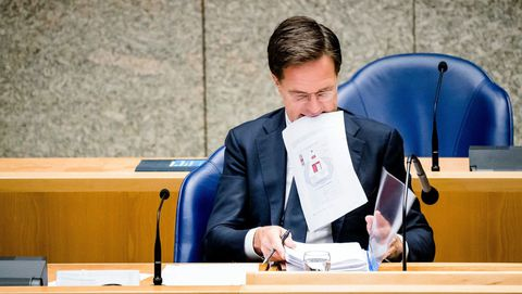 Mark Rutte, primer ministro holandés.