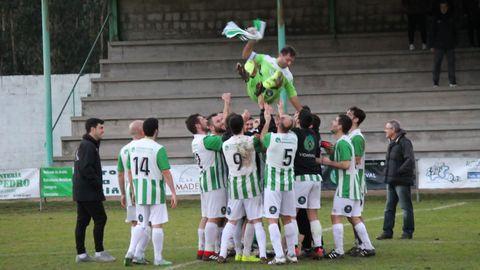 El Alfoz salta desde Tecera Galicia a Primera Galicia en poco más de un año