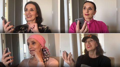 La artista compartió en Instagram algunas de las conversaciones que mantuvo con gente anónima, convirtiendo su perfil en la red social en una suerte de diario de su iniciativa solidaria