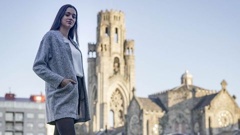 Lucía Lamas es la candida a Miss World Spain en representación de la provincia de Ourense