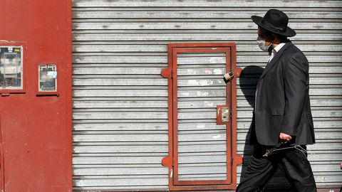 Un miembro de la comunidad judía en Buenos Aires