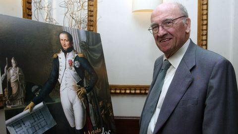 El historiador Miguel Artola