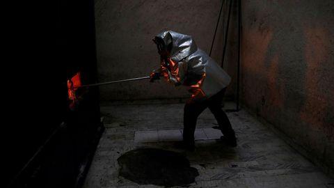 El empleado de un crematorio en Ciudad de México