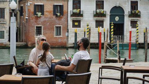A partir del día 3 en Italia no habrá restricciones de movimientos. La reapertura de las cafeterías ya ha sido un alivio en ciudades turísticas como Venecia