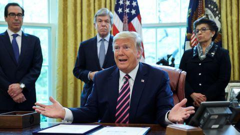 El presidente estadounidense lamentó el elevado número de fallecidos