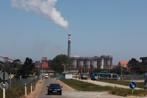 Fábrica de Alcoa en San Cibrao, en Lugo