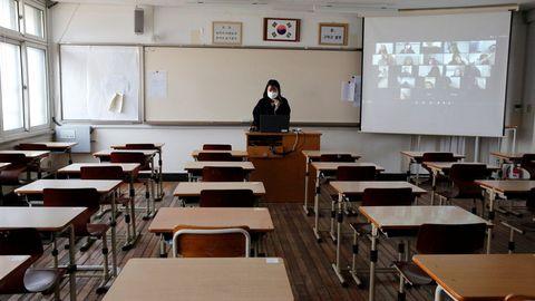 Los colegios de Seúl reducirán el aforo de las aulas