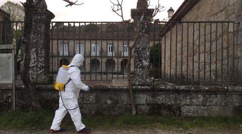 En el asilo de Ribadavia no quedan casos de contagios por coronavirus
