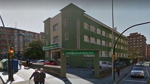 Instituto Gerontológico Astur, conocido como la residencia El Carmen, en Gijón