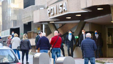 El único paciente crítico de covid-19 que queda en Vigo está en Povisa