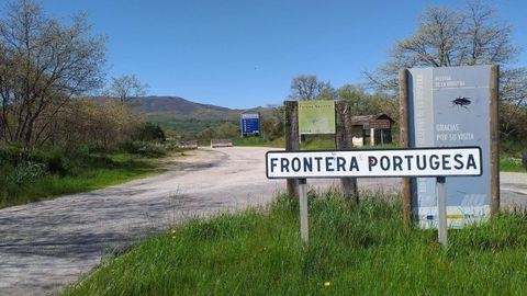 Imagen de la frontera portuguesa en Calvos de Randín