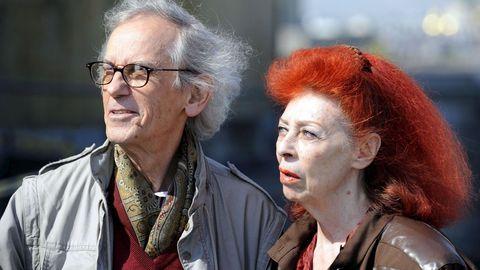 En Austria, en el 2009, con su esposa Jeanne-Claude