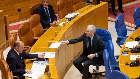 El conselleiro Conde compareció hoy en la Diputación Permanente