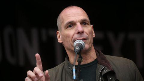 El economista y exministro de Finanzas griego Yanis Varoufakis