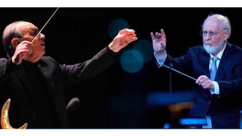 Ennio Morricone y John Williams