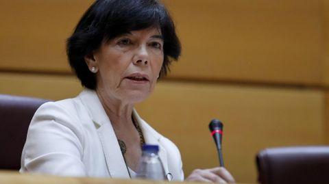 Isabel Celaá, ministra de Educación y FP