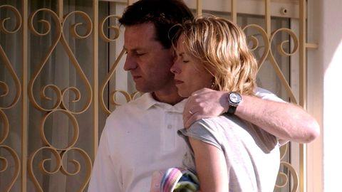 Jerry y Kate McCann en Praia da Luz en septiembre del 2007
