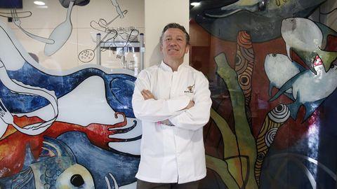 El cocinero Flavio Morganti