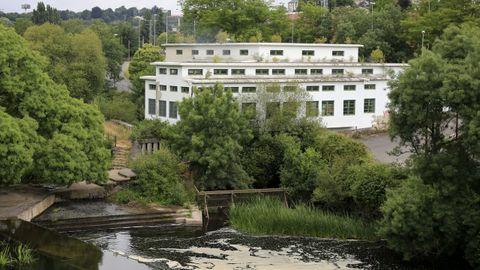 Así está la Fábrica de la Luz de Lugo