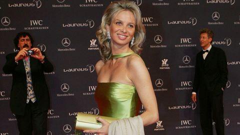 Corina Larsen, en mayo del 2015, en una gala de los premios Laureus en Estoril
