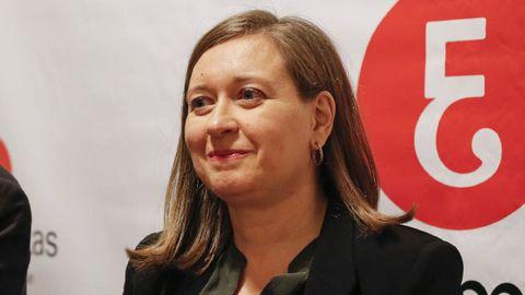 María de Carmen Sampayo David, presidenta del Colegio de Economistas de Ourense