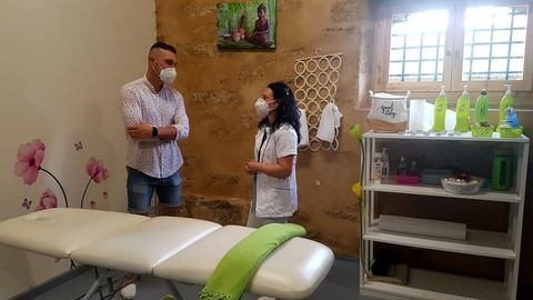 El centro de terapia ocupacional Pasiños de Lúa ha sido el último incorporarse en Sargadelos