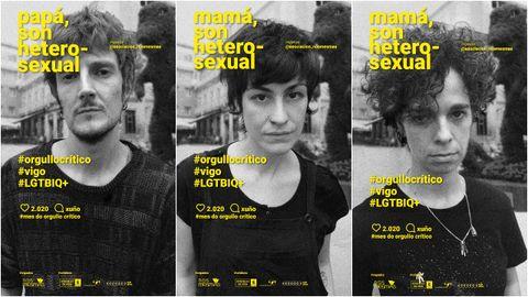 El colectivo LGTBI Nós Mesmas lanza una campaña de normalización en el mes del orgullo