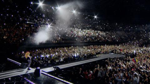 Imagen de «Shakira en concierto».