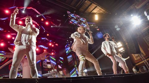 Imagen de archivo de una actuación de Panorama en Ribeira