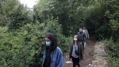 Os participantes acudiron con máscara, atendendo as recomendacións sanitarias