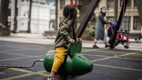 Parque infantil de Méndez Núñez, en A Coruña