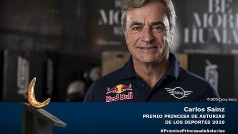 Carlos Sainz, premio Princesa de los Deportes 2020