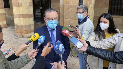 Alfredo García Quintana, concejal de Turismo del Ayuntamiento de Oviedo